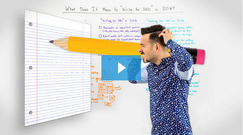 """What Does It Mean to """"Write for SEO"""" in 2018"""